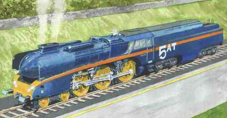 Robin Barnes, Railway Art and History of the 5AT